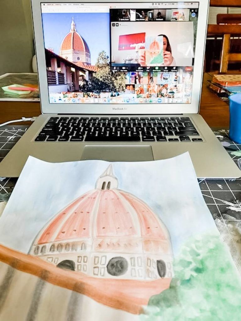 Florence Watercolor Workshop