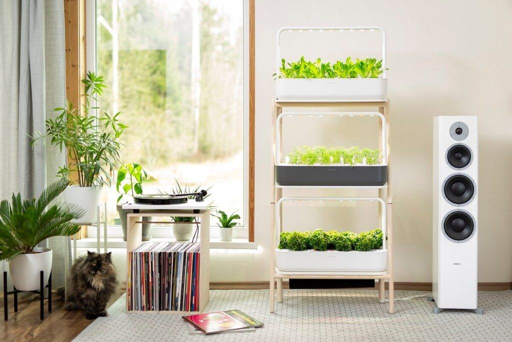 click and grow plant stand